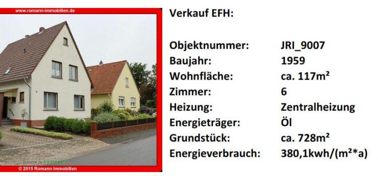 Einfamilienhaus in Minden-Leteln mit Modernisierungsbedarf