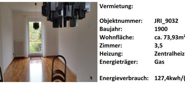 Schöne 3,5 Zimmer-Wohnung in Rablinghausen